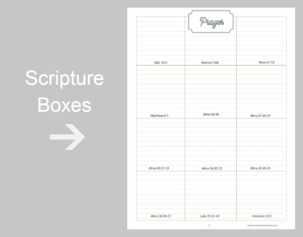 Prayer Study Packet