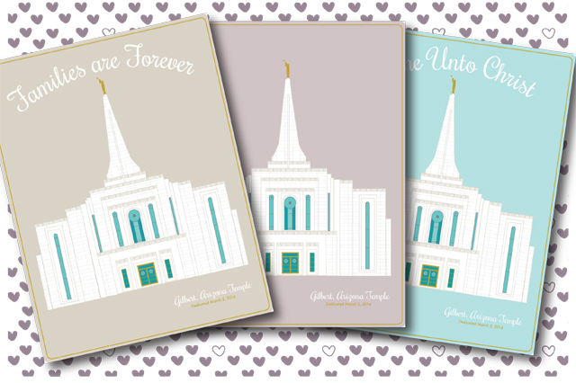 Gilbert Arizona Temple COMBO package