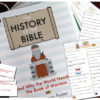 The History of the Bible Trivia Cards (For Flipbook)