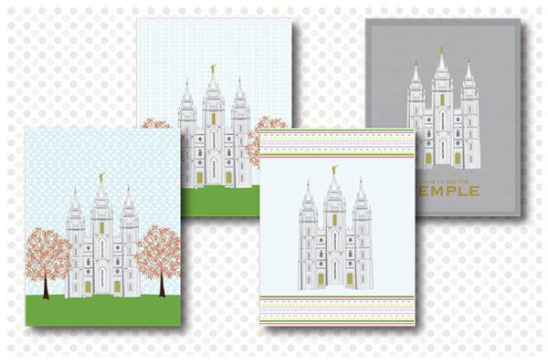 Salt Lake City Temple Prints