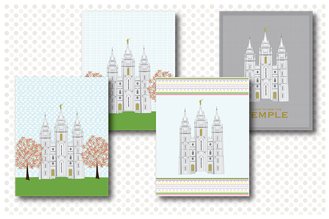 Salt Lake City Temple Prints