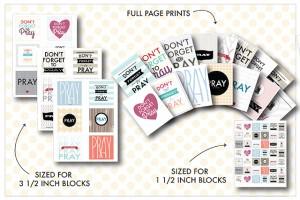 Prayer COMBO package-Flipbook/Prints