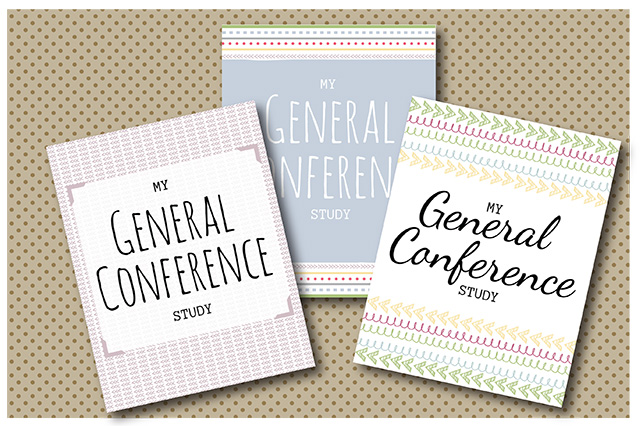 General Conference Study Kit-Spring Pastel Collection