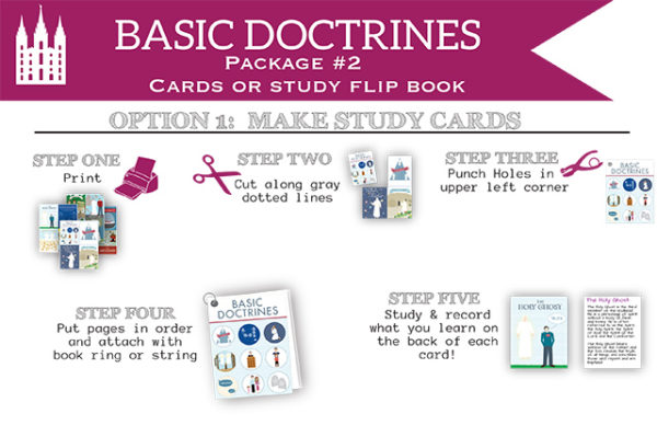 Basic Doctrines Cards (package 2)