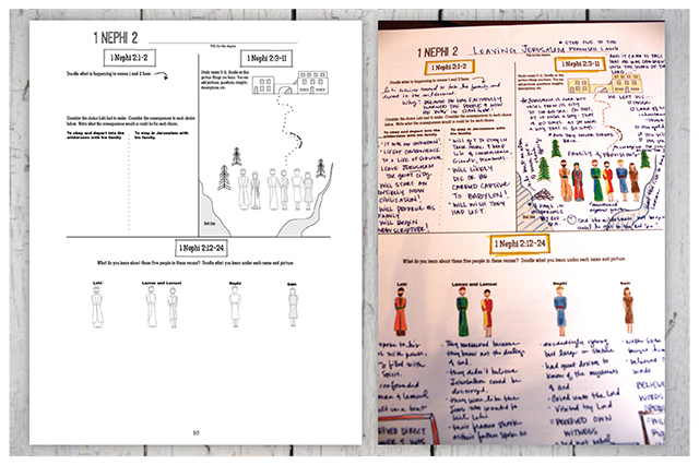 Book of Mormon Study Guide - Diagrams, Doodles, and Insights