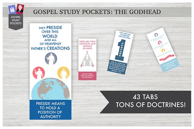 Gospel Study Pockets - The Godhead