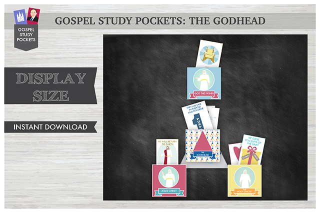 Gospel Study Pockets - The Godhead (Display Size)