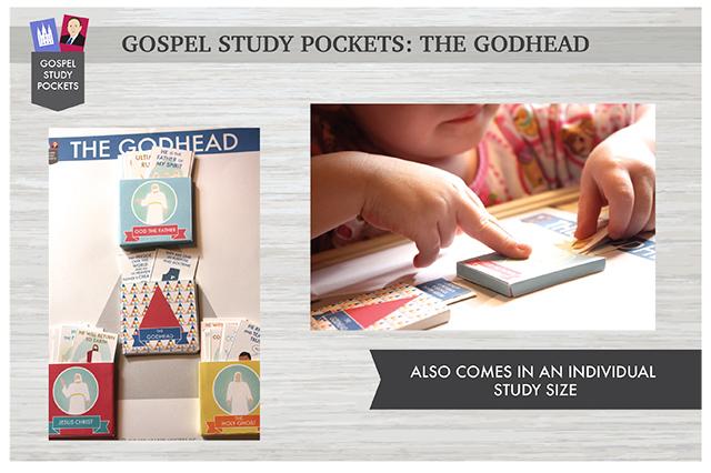 Gospel Study Pockets - The Godhead (Display Size)
