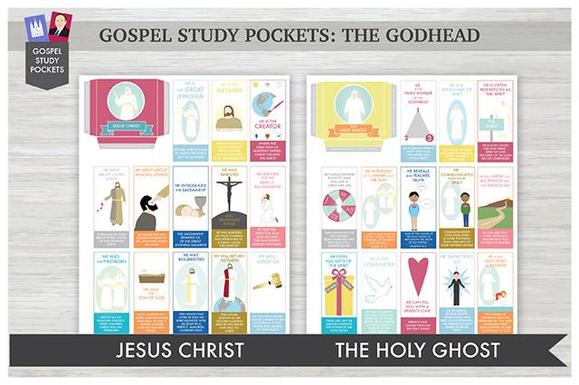 Gospel Study Pockets -The Godhead COMBO Package