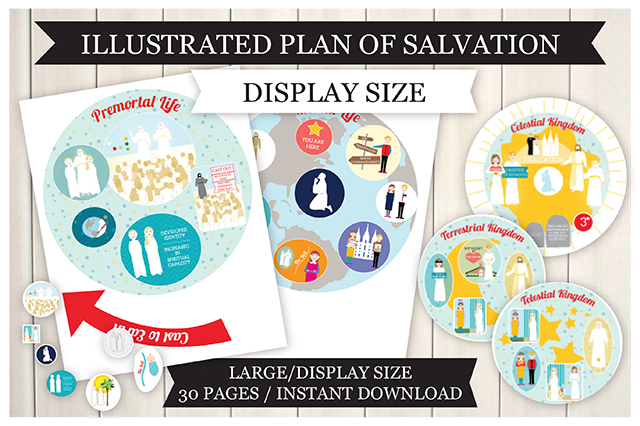 Plan of Salvation Illustrated - Display Size Teaching Package