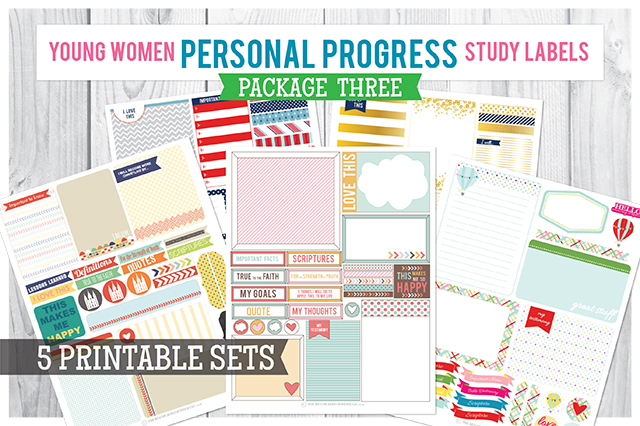 personal Progress Study Labels Package 3