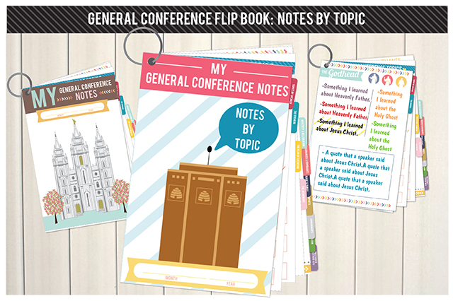 FLIPBOOK: General Conference: Notes by Topic