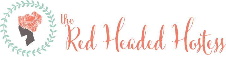 The Red Headed Hostess Logo