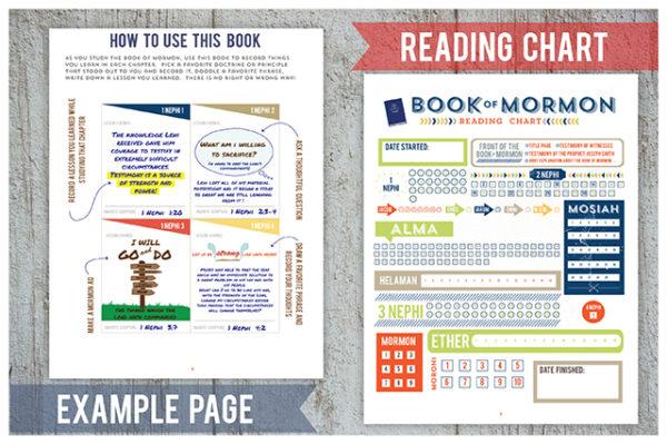 Book of Mormon Study Squares: Blue Design