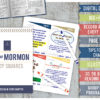Book of Mormon Study Squares COMBO: Pink and Blue designs