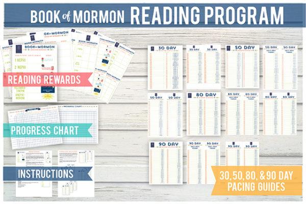 Book of Mormon Reading and Rewards program