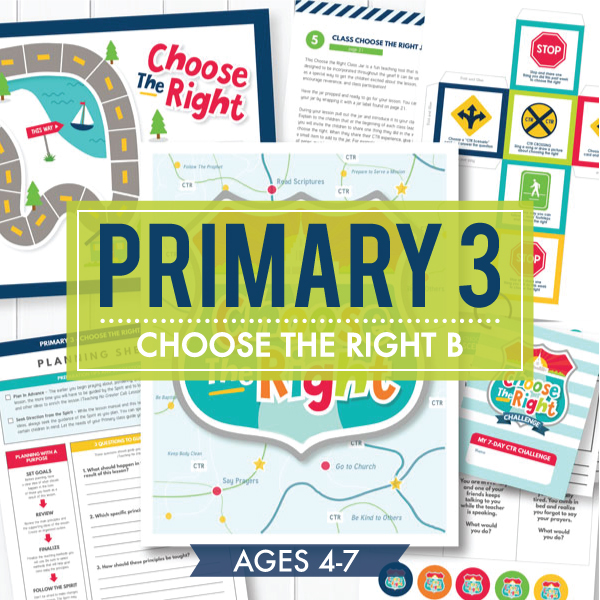 Primary 3 / Choose the Right B