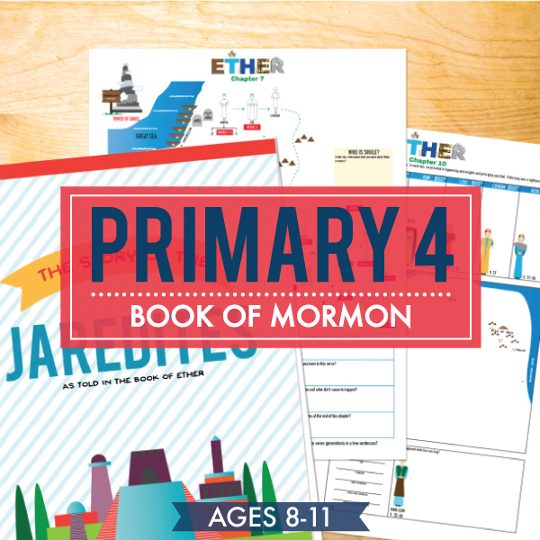 Primary 4 / Book of Mormon