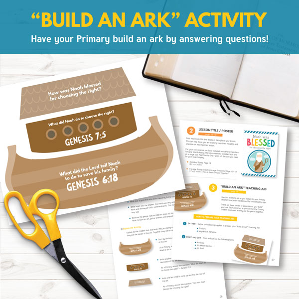 Build an Ark - Teaching Activity for February Week 1
