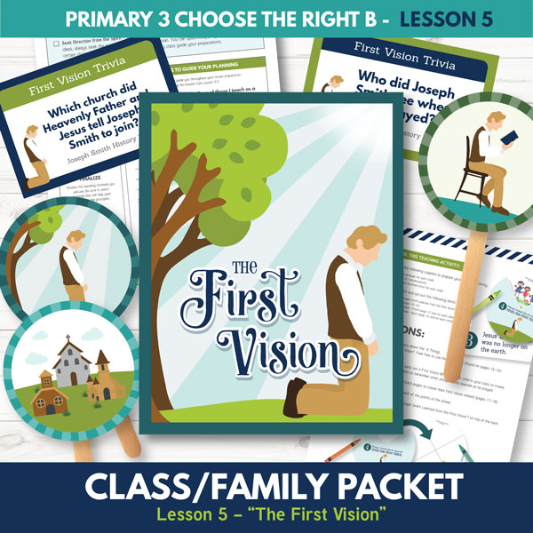 Lesson 5 - Joseph Smith's First Vision