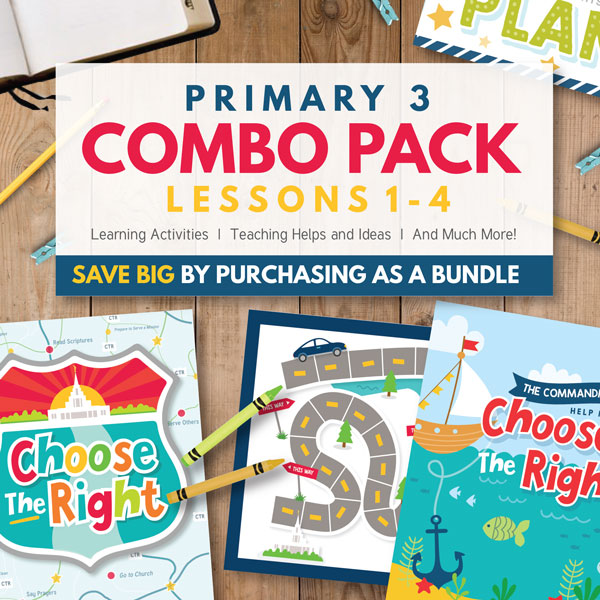 Primary 3 COMBO Pack - Lessons 1-4