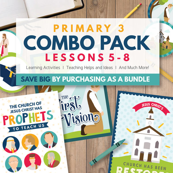 Primary 3 Combo Package (Lessons 5-8)
