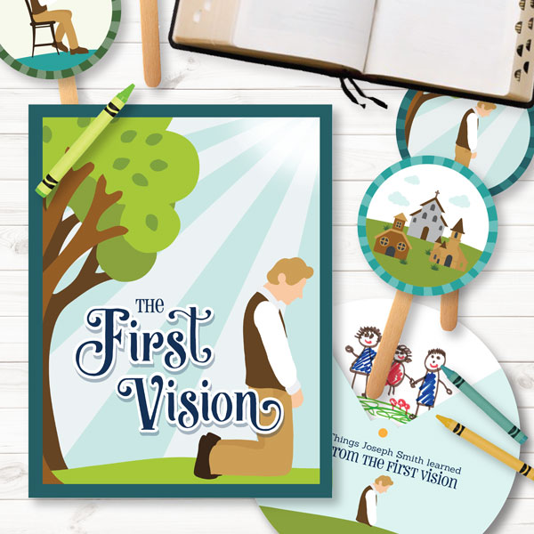Primary 3 - The First Vision (Lesson 5)