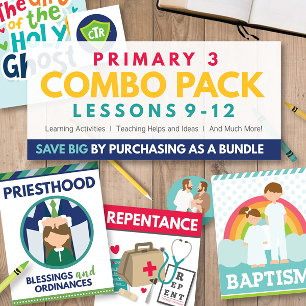 CTR Primary 3 - Combo Teaching Package (Lessons 9-12)