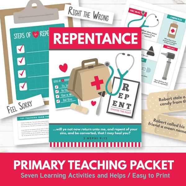 Primary 3 Lesson 10 - Repentance