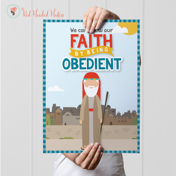 LDS Primary Lesson on Faith and Obedience - Awesome Teaching Helps and Ideas