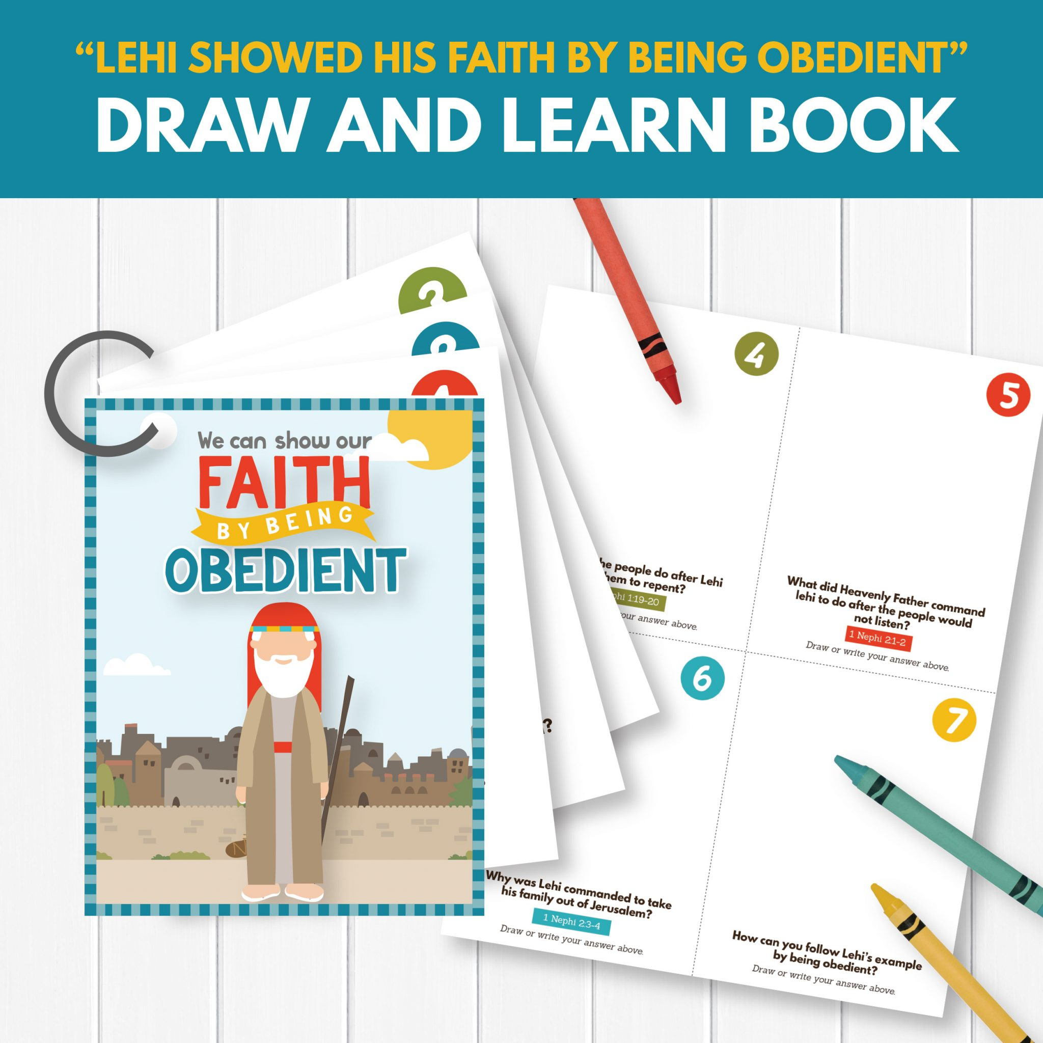 Primary Learning Activity - We Can Show Our Faith By Being Obedient (Primary 3 Lesson 16)