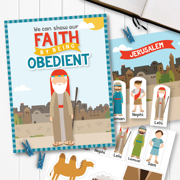 We Can Show Our Faith By Being Obedient Lesson Ideas (Primary 3 Lesson 16)