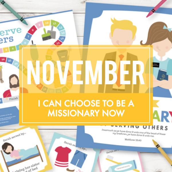 November Sharing Time