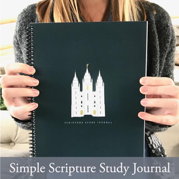 Simple Scripture Study Journals
