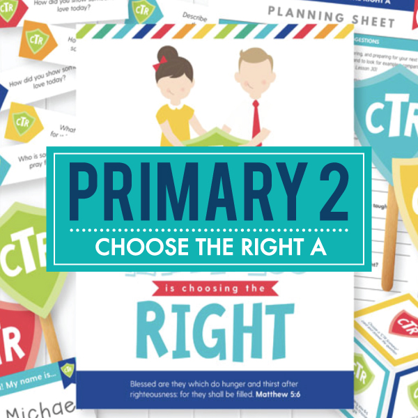 Primary 2 / Choose the Right A