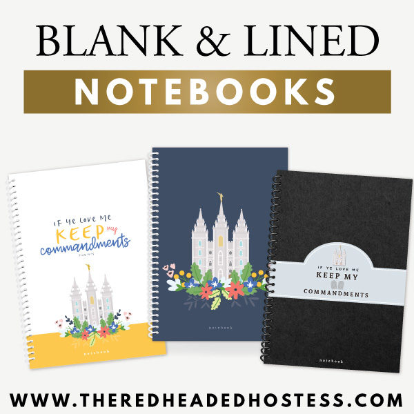 Lined Notebooks