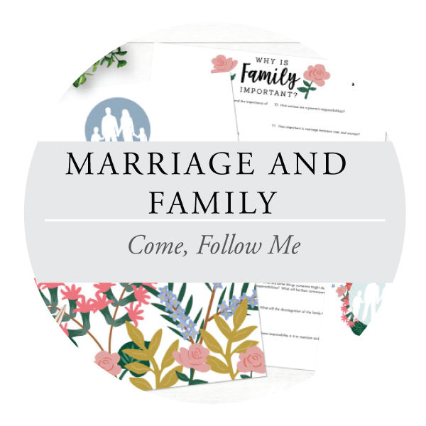 Marriage and Family - Youth Lessons