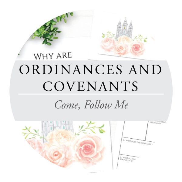 Ordinances and Covenants - Youth Lessons