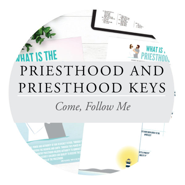 Priesthood & Priesthood Keys - Youth Lessons