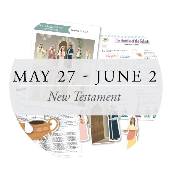 May 27 - June 2