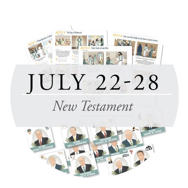 July 22-28