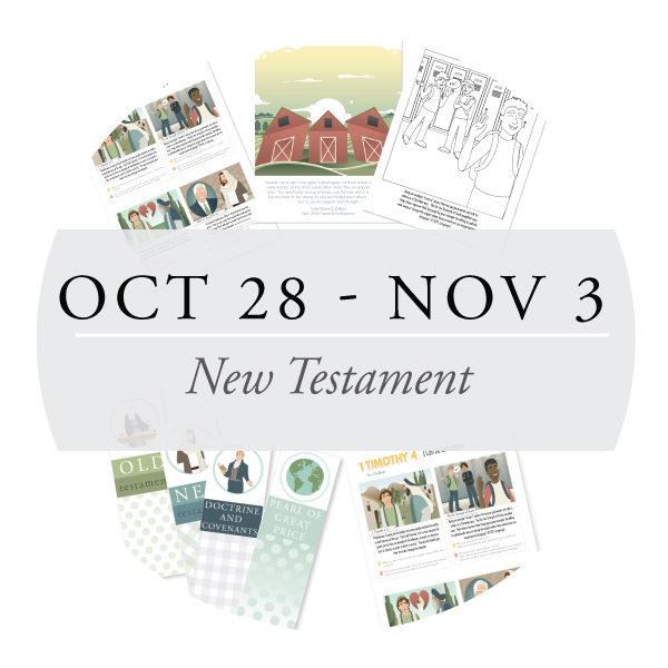 October 28 - November 3
